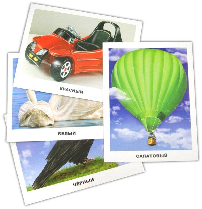 Иллюстрация 1 из 31 для Обучающие карточки. Цвета   Лабиринт - книги. Источник: Лабиринт
