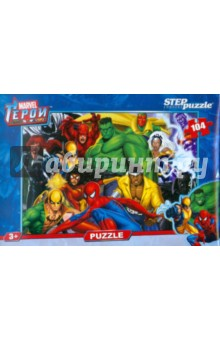 "Step Puzzle-104 ""Герои Marvel"" (82112)"