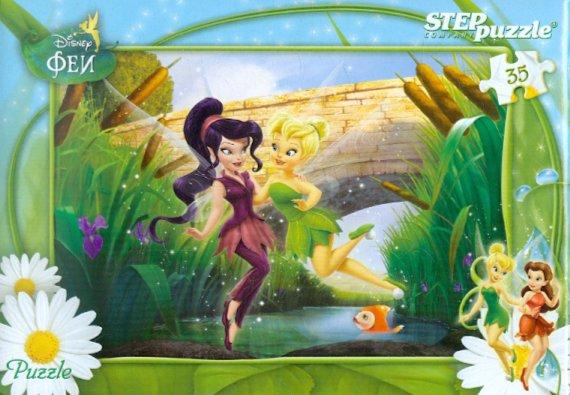 """Иллюстрация 1 из 3 для Step Puzzle-35""""Феи"""" (91110)   Лабиринт - игрушки. Источник: Лабиринт"""
