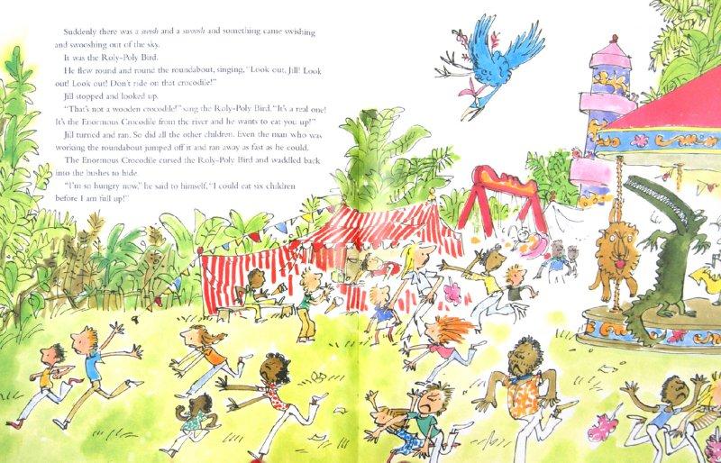 Иллюстрация 1 из 18 для The Enormous Crocodile (+CD) - Roald Dahl | Лабиринт - книги. Источник: Лабиринт