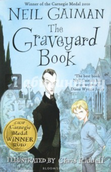 The Graveyard BookХудожественная литература на англ. языке<br>Nobody Owens, known to his friends as Bod, is a normal boy. He would be completely normal if he didn t live in a graveyard, being raised and educated by ghosts. There are dangers and adventures for Bod in the graveyard. But it is in the land of the living that real danger lurks for it is there that the man Jack lives and he has already killed Bod s family. A deliciously dark masterwork by bestselling author Neil Gaiman, with illustrations by award-winning Chris Riddell.<br>