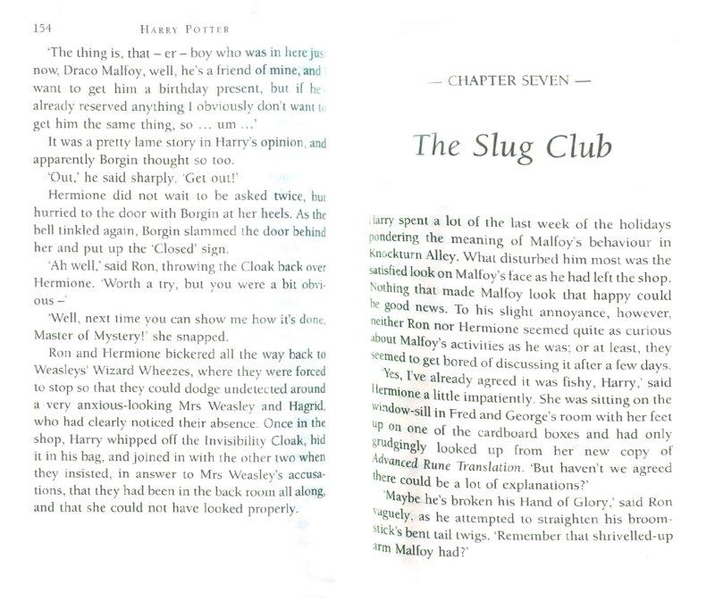 Иллюстрация 1 из 17 для Harry Potter and the Half-Blood Prince - Joanne Rowling | Лабиринт - книги. Источник: Лабиринт