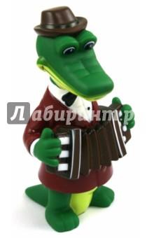 Пластизоль Крокодил Гена (5592GT)Герои мультфильмов<br>Игрушка из высококачественных полимерных материалов.<br>С этими игрушками ребенок может играть и в ванной.<br>Не содержит фенол!<br>Для детей от 1-го года.<br>Изготовлено в Китае.<br>