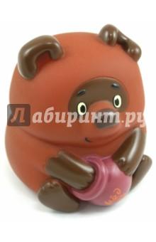 Пластизоль Винни Пух (5594GT)Герои мультфильмов<br>Игрушка из высококачественных полимерных материалов.<br>С этими игрушками ребенок может играть и в ванной.<br>Не содержит фенол!<br>Изготовлено в Китае.<br>