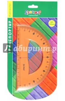 "Транспортир ""Colorful"" 180°/150мм: гнущийся (160068) Silwerhof"