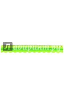 """Линейка """"Colorful"""" 20см: удобный держатель, фигурная (160074) Silwerhof"""
