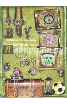 """Записная книжка для мальчишек """"Коллаж"""" (24704)"""