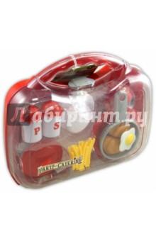 Кухонный набор: продукты, посуда (в кейсе), большой (9601)