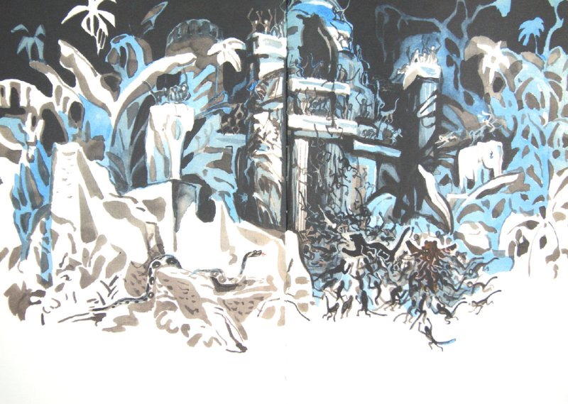 Иллюстрация 1 из 7 для Охота Каа - Редьярд Киплинг | Лабиринт - книги. Источник: Лабиринт