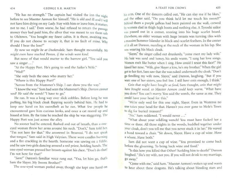 Иллюстрация 1 из 13 для A Feast for Crows - Martin George R. R. | Лабиринт - книги. Источник: Лабиринт