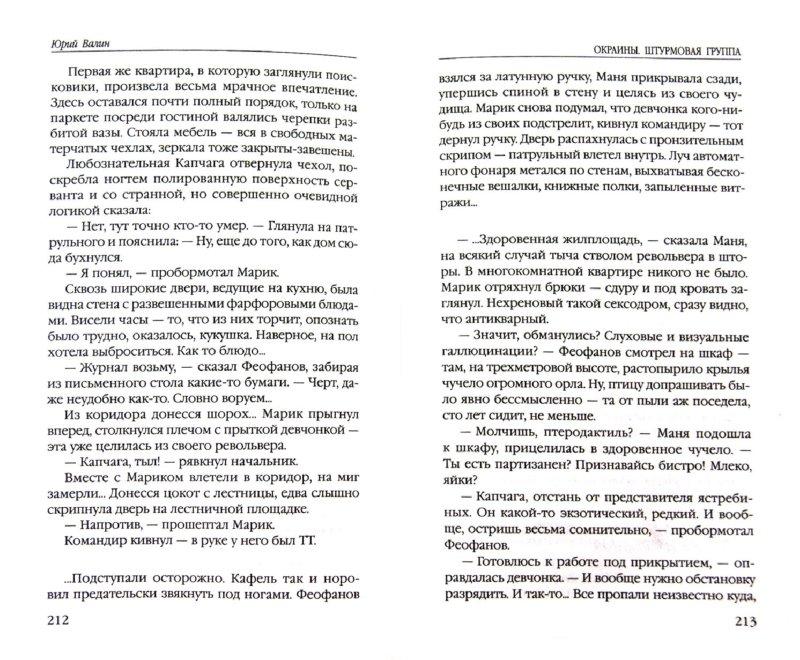 Иллюстрация 1 из 7 для Окраины. Штурмовая группа - Юрий Валин | Лабиринт - книги. Источник: Лабиринт