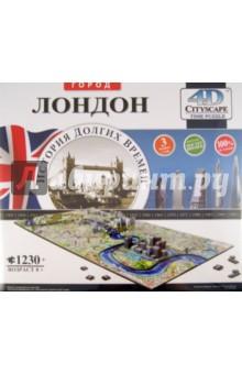 Настольная игра Лондон. Пазл 4D, 1230 деталей
