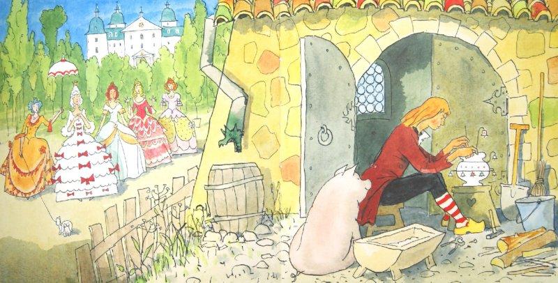 Иллюстрация 1 из 26 для Любимые сказки - Ханс Андерсен | Лабиринт - книги. Источник: Лабиринт