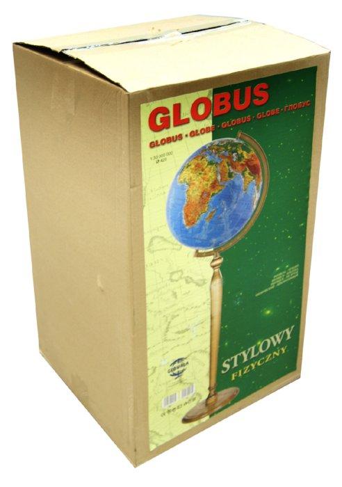 Иллюстрация 1 из 2 для Глобус физико-географический d=420 мм. напольный | Лабиринт - канцтовы. Источник: Лабиринт