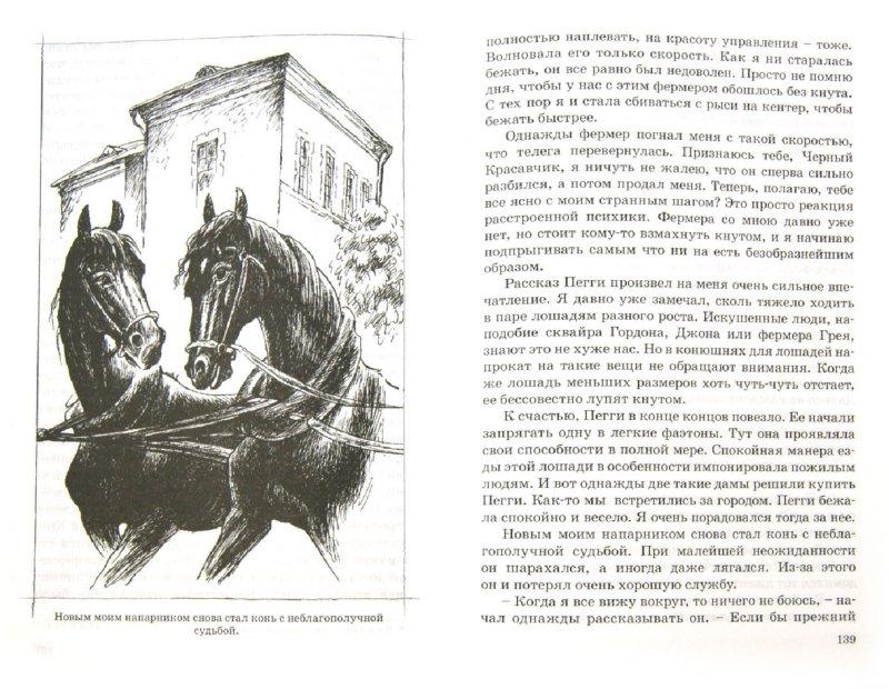 Иллюстрация 1 из 16 для Черный красавчик - Анна Сьюэлл | Лабиринт - книги. Источник: Лабиринт