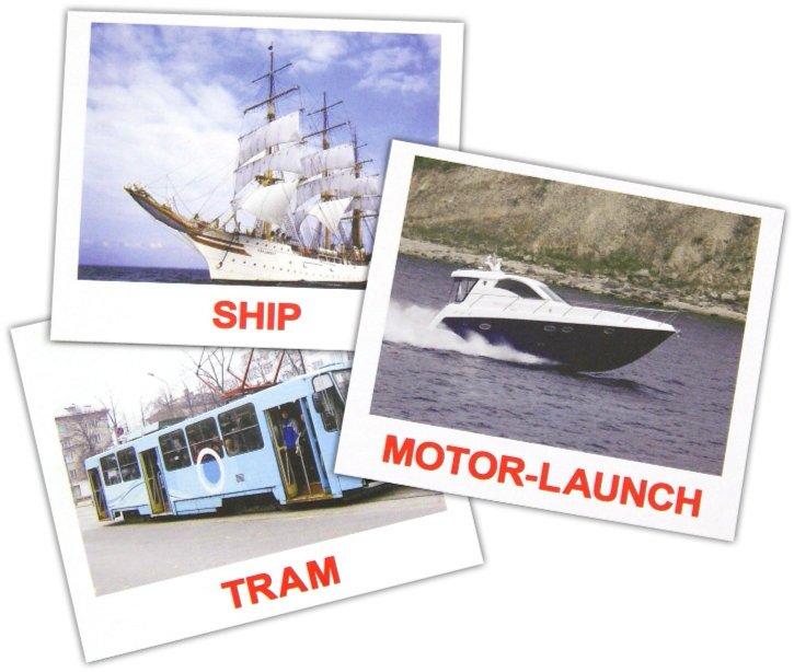 """Иллюстрация 1 из 22 для Комплект карточек мини на английском языке """"Transport"""" 8х10 см - Носова, Епанова   Лабиринт - книги. Источник: Лабиринт"""