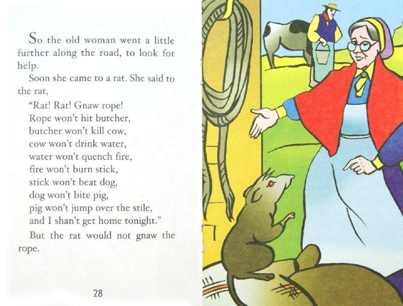 Иллюстрация 1 из 4 для Старушка и поросенок. Книга для чтения на английском языке   Лабиринт - книги. Источник: Лабиринт