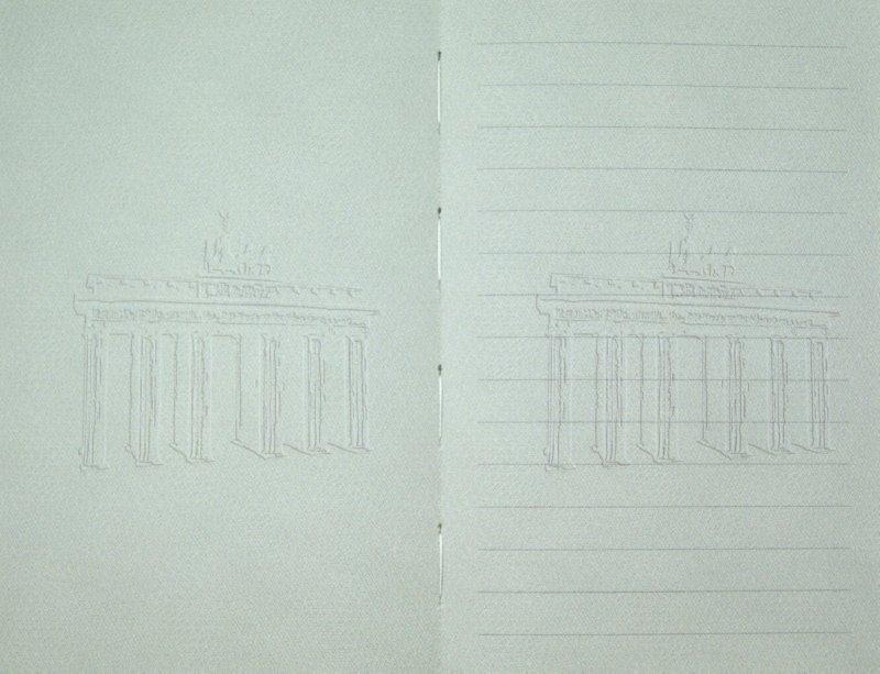 """Иллюстрация 1 из 2 для Книга для записей """"Берлин"""".  (60576)   Лабиринт - канцтовы. Источник: Лабиринт"""