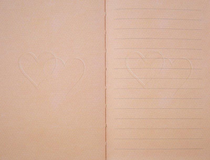 """Иллюстрация 1 из 2 для Книга для записей """"Для влюбленных"""".  (60749)   Лабиринт - канцтовы. Источник: Лабиринт"""