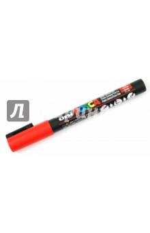 Маркер декоративный красный круглый тип острия (PC-3M)
