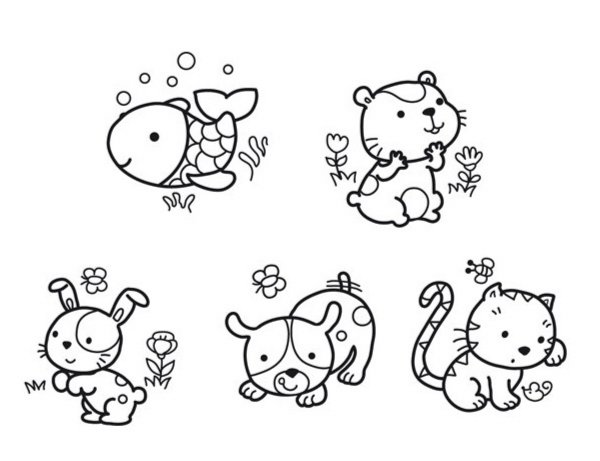 """Иллюстрация 1 из 2 для Бейби штамп """"Домашние любимцы"""" (03801)   Лабиринт - игрушки. Источник: Лабиринт"""