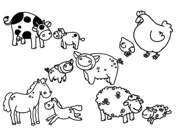 """Иллюстрация 1 из 2 для Стампоминос """"В деревне. Большие и маленькие"""" (85102)   Лабиринт - игрушки. Источник: Лабиринт"""