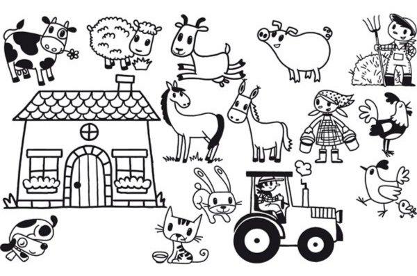 Иллюстрация 1 из 3 для Придумай историю – Про деревню (85056)   Лабиринт - игрушки. Источник: Лабиринт