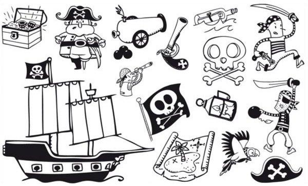 Иллюстрация 1 из 3 для Придумай историю – Про пиратов (85052)   Лабиринт - игрушки. Источник: Лабиринт