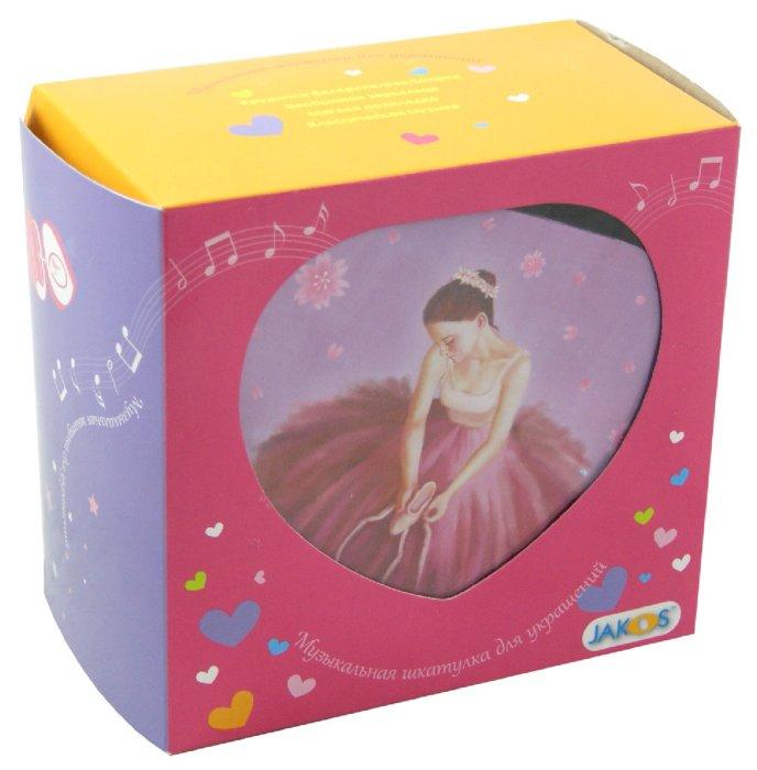 """Иллюстрация 1 из 3 для Шкатулка музыкальная """"Балерина в розовом"""" (30000)   Лабиринт - игрушки. Источник: Лабиринт"""