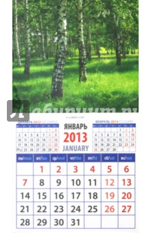 """Календарь 2013 """"Березы"""" (20315)"""