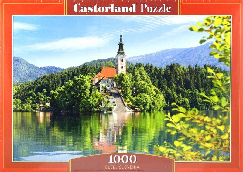 """Иллюстрация 1 из 6 для Puzzle-1000 """"Замок Словения"""" (C-102464)   Лабиринт - книги. Источник: Лабиринт"""