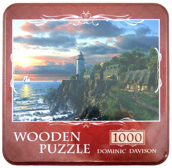 "Иллюстрация 1 из 6 для Puzzle-1000 ""Закат на маяке, Dominic Davison"" (10030) | Лабиринт - игрушки. Источник: Лабиринт"