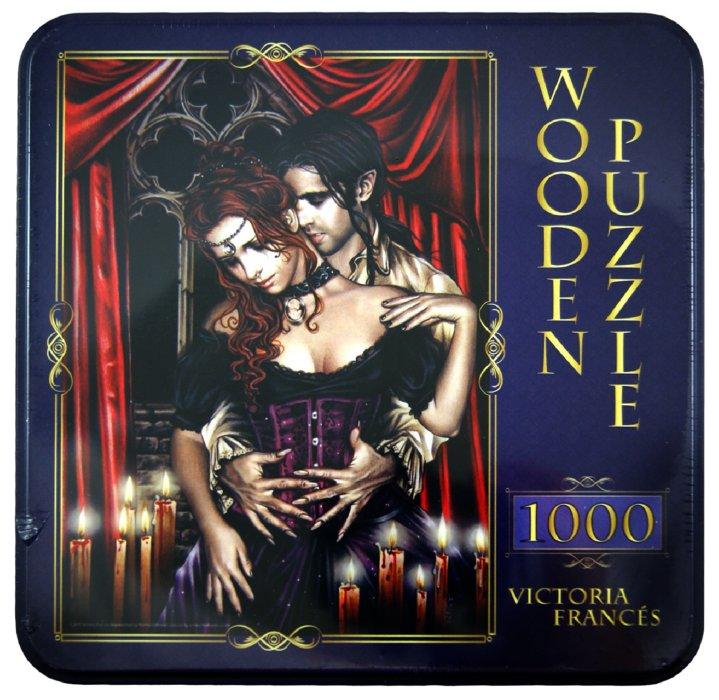"""Иллюстрация 1 из 7 для Puzzle-1000 """"Любовники, Victoria Frances"""" (10060)   Лабиринт - игрушки. Источник: Лабиринт"""