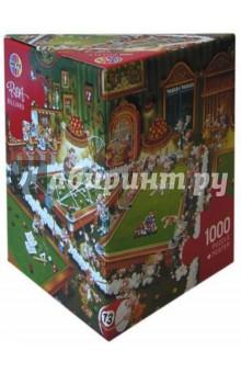 Puzzle-1000 Бильярд (Ryba) (29232)Пазлы (1000 элементов)<br>Пазл-мозаика + постер.<br>Правила игры: вскрыть упаковку и собрать игру по картинке.<br>В коробке 1000 пазлов.<br>Размер собранной картинки: 68х48 см.<br>Не давать детям до 3-х лет из-за наличия мелких деталей.<br>Материал: картон<br>Сделано в Германии.<br>