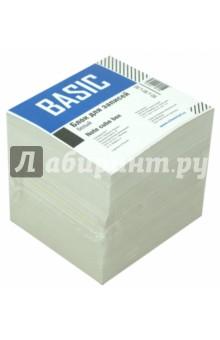 Блок для записей 90х90х90мм., белый, BASIC (701010)Бумага для записей<br>Блок листов для записей.<br>Цвет бумаги: белый.<br>Размеры: 90х90х90 мм<br>Сделано в России.<br>Не подлежит обязательной сертификации.<br>Срок годности не ограничен.<br>