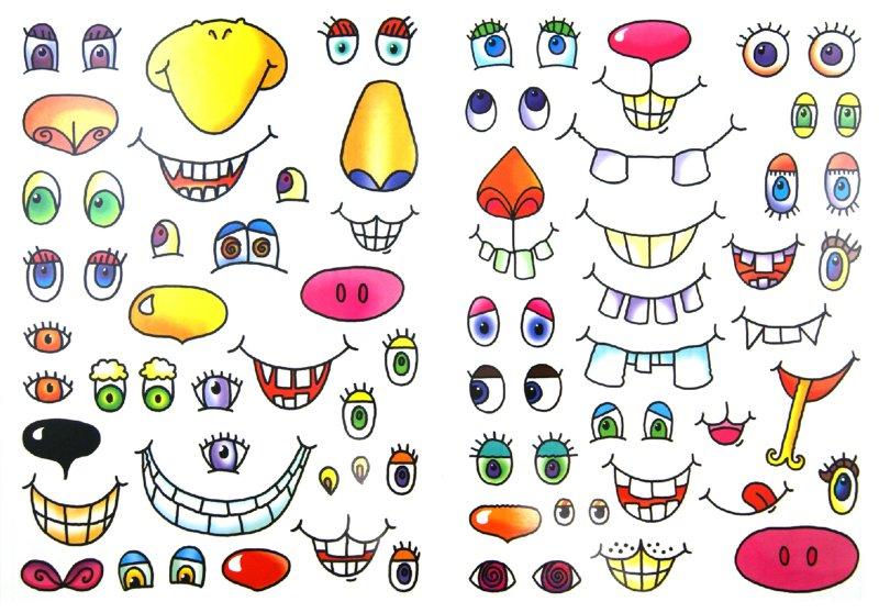 Прикольные носы для рисунков