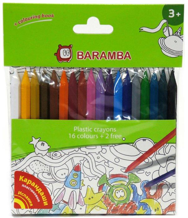 Иллюстрация 1 из 7 для Карандаши пластиковые 18 цветов, в блистере (B96218) | Лабиринт - канцтовы. Источник: Лабиринт