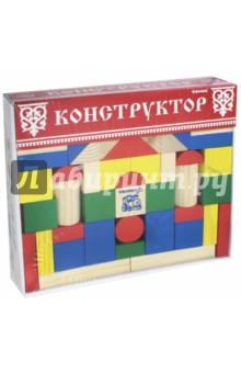 """Конструктор """"Цветной"""" 65 деталей (6678-65)"""