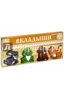 """Доска-вкладыш """"Животные"""" (451-1)"""