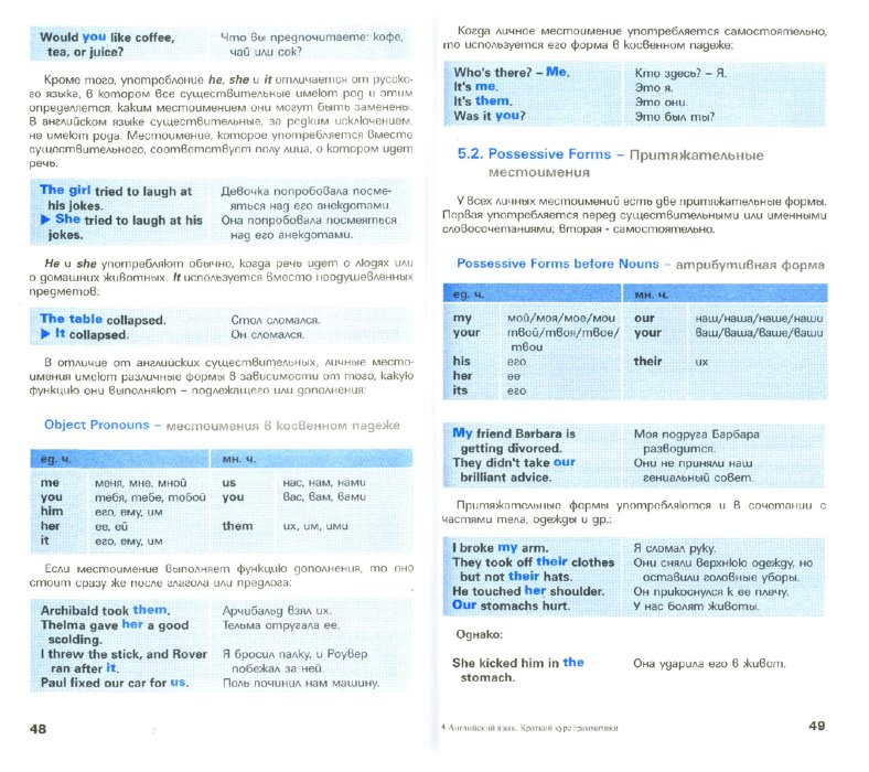 Иллюстрация 1 из 16 для Английский язык. Краткий курс грамматики | Лабиринт - книги. Источник: Лабиринт