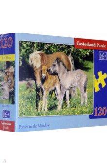 "Puzzle-120 MIDI ""Лошади"" (В-12619)"