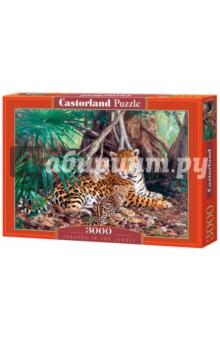 Puzzle-3000 Ягуары в джунглях (С-300280)Пазлы (2000 элементов и более)<br>Пазлы-мозаика.<br>Количество элементов: 3000.<br>Размер собранной картинки: 92х68 см.<br>Правила игры: вскрыть упаковку и собрать игру по картинке.<br>Размер собранной картинки: <br>Не давать детям до 3-х лет из-за наличия мелких деталей. <br>Производитель: Польша.<br>