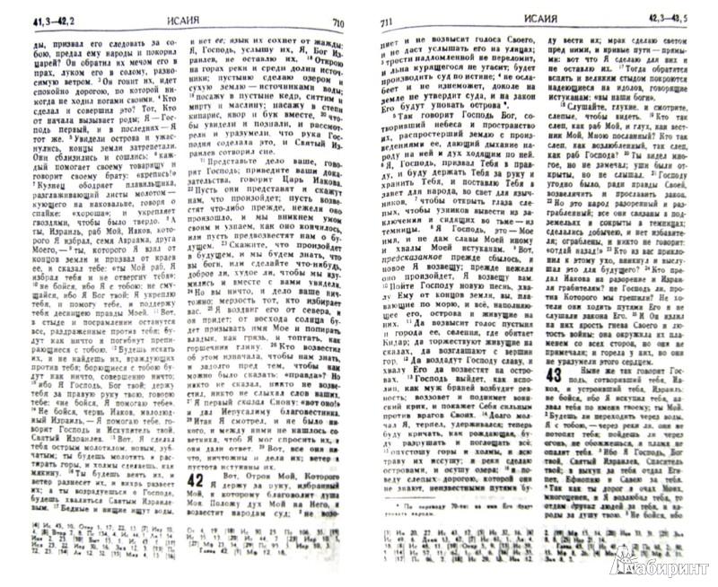 Иллюстрация 1 из 2 для Библия. Книги Священного Писания Ветхого и Нового Завета | Лабиринт - книги. Источник: Лабиринт