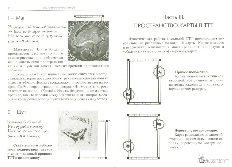 Иллюстрация 1 из 8 для Транспарентное Таро. Практическое пособие - Бородина, Лобанов | Лабиринт - книги. Источник: Лабиринт
