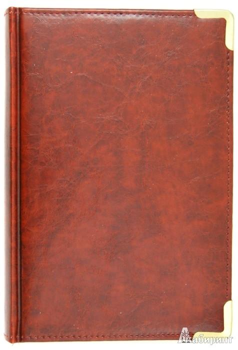 """Иллюстрация 1 из 2 для Ежедневник датированный 176 листов """"Nappa"""", А5, коричневый (ЕК517611)   Лабиринт - канцтовы. Источник: Лабиринт"""