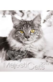 Календарь 2013: Majestic Cats/Кошки