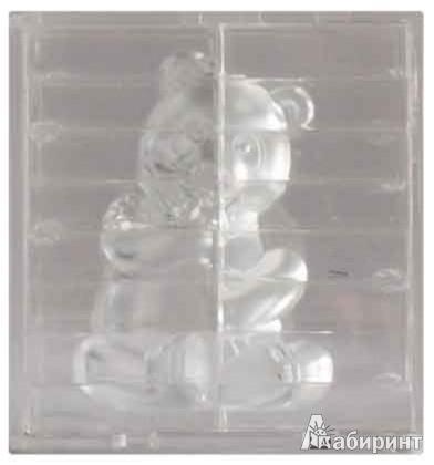 """Иллюстрация 1 из 2 для 3DГоловоломка """"ПАНДА"""" серебро   Лабиринт - игрушки. Источник: Лабиринт"""