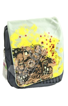 Рюкзак молодежный Ethnic (830525)Рюкзаки школьные<br>Стильный молодежный рюкзак Ethnic, выполненная из прочного материала серого и салатового цветов и оформленный оригинальной аппликацией, придется по душе многим подросткам. <br>Рюкзак оснащен одним основным отделением, закрывающимся на застежку-молнию, а сверху клапаном на липучках. Внутри отделения сумки карман на молнии. Для разных нужных мелочей предусмотрен большой карман, располагающийся на внешней стороне сумки под клапаном на молнии. <br>Рюкзак оборудован удобной плечевой лямкой, длина которой регулируется липучкой. Бегунки снабжены оригинальными держателями.<br>Сделано в Китае.<br>