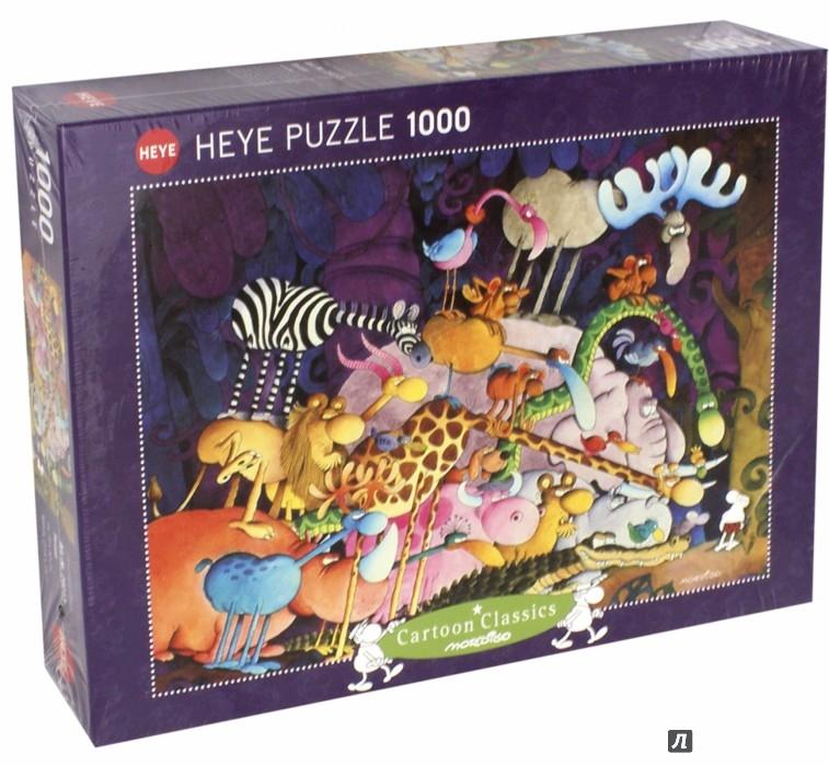 "Иллюстрация 1 из 5 для Puzzle-1000 ""Тарзан"" Mordillo (29213)   Лабиринт - игрушки. Источник: Лабиринт"