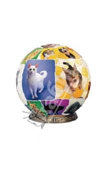 Настольная игра Мир кошек, 8 см, Шаровый пазл